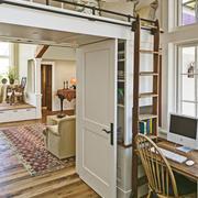 现代室内实木地板图