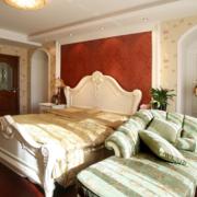 完美的卧室背景墙