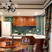 开放式厨房装修设计色调搭配