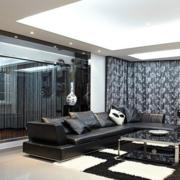 现代客厅沙发设计