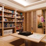 精致的书柜设计图
