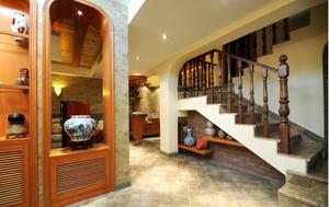 地中海风格别墅厨房移门装修效果图