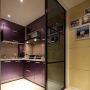 厨房推拉门装修隔断图