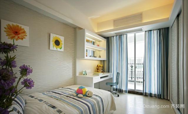 两室一厅韩式清新卧室装修效果图
