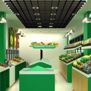 亮色调水果店图