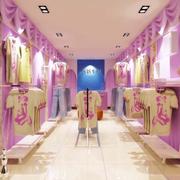 温馨色调的服装店