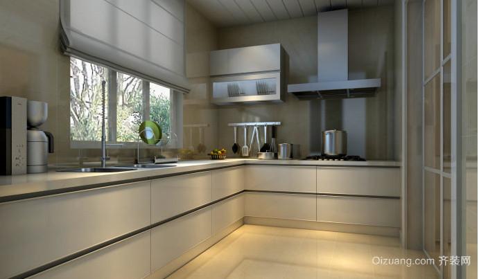 全新开放式厨房装修设计效果图