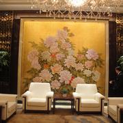 酒店壁画设计图