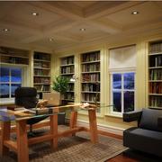 简约书房造型设计