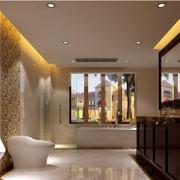 中式风格卫生间装修灯光设计