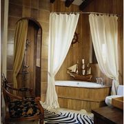 美式风格卫生间装修浴室图