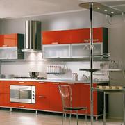 现代开放式厨房图