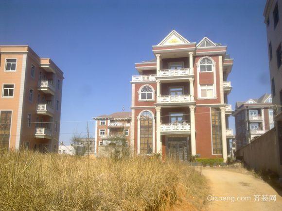 别墅风格的农村自建房设计图鉴赏