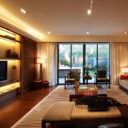 现代客厅灯光设计