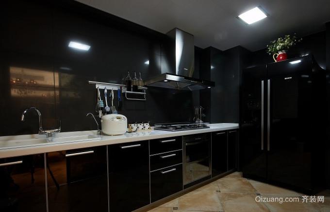 20平米全新后现代风格厨房装修效果图