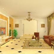 现代客厅色调搭配图