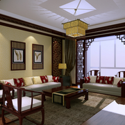 客厅装修造型图