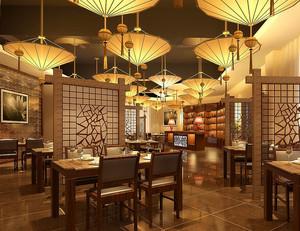 现代餐馆设计图