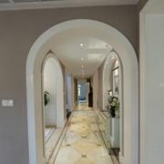 现代唯美的走廊设计