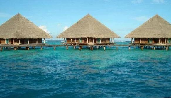 各种小型水上 木屋 别墅 度假村 装修 效果图 齐装