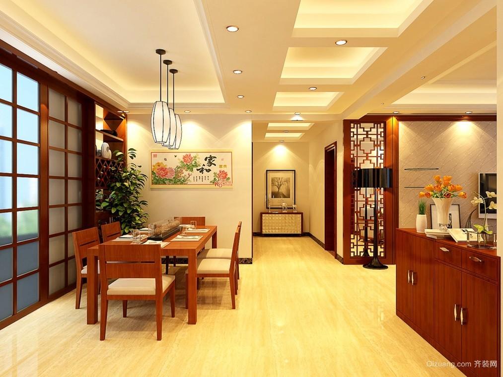 凝重而不失闲适 中式新古典客厅装修效果图大全
