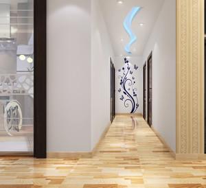 大户型时尚大气的都市走廊吊顶装修效果图