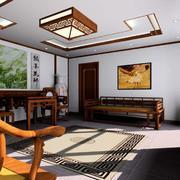 中式客厅背景墙图