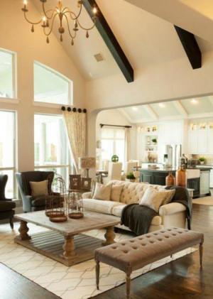 美式风格小复式楼阁楼装修效果图
