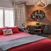 单身公寓卧室飘窗图