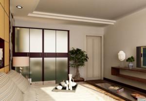 大有玄机的家庭卧室门装修效果图