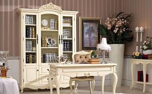 高冷的法式书房设计效果图欣赏