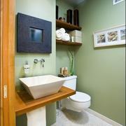 单身公寓卫生间整体图