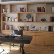 书柜装修图设计