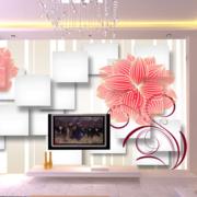客厅3d电视背景墙装修吊顶图