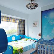 儿童房飘窗造型图