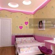儿童房吊顶造型图