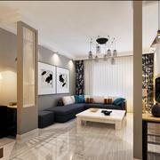 现代客厅设计模板