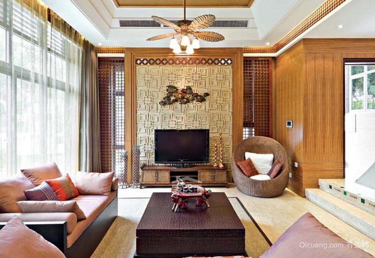 令人难以忘怀的东南亚风格客厅沙发装修效果图鉴赏