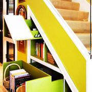 暖色调楼梯设计图