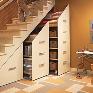 单身公寓楼梯效果图