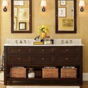 卫生间台盆柜装修实例