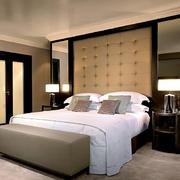 卧室床头背景墙图