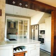 现代厨房吊顶造型图
