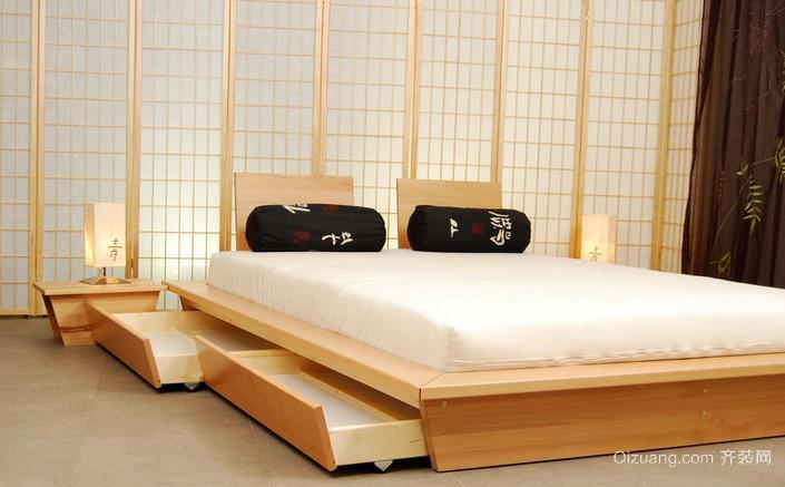 简单不单纯的小榻榻米床装修效果图