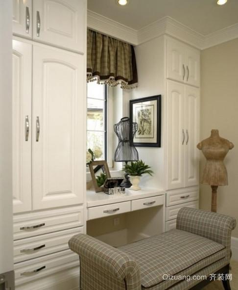 90平米现代简约客厅靠墙柜子装修效果图