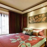 卧室设计窗帘造型图
