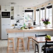 开放式厨房装修设计吊顶图