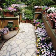 现代入户花园模板