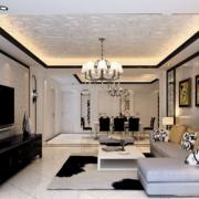 客厅地板砖图