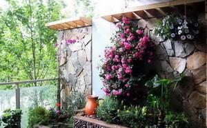 北欧露台花园设计装修效果图